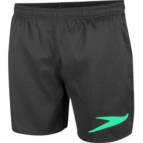 speedo Sport Solid Short de bain 16'' Homme, black/green glow